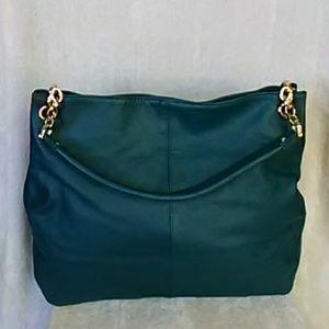 Cuore & Pelle Sophia hobo bag,  teal
